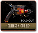THE CRIMSON CURSE - A ONE-OF-A-KIND RAYGUN