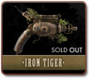 THE IRON TIGER - A ONE-OF-A-KIND RAYGUN