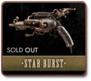 STAR BURST - A ONE-OF-A-KIND RAYGUN