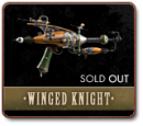 THE WINGED KNIGHT - A ONE-OF-A-KIND RAYGUN